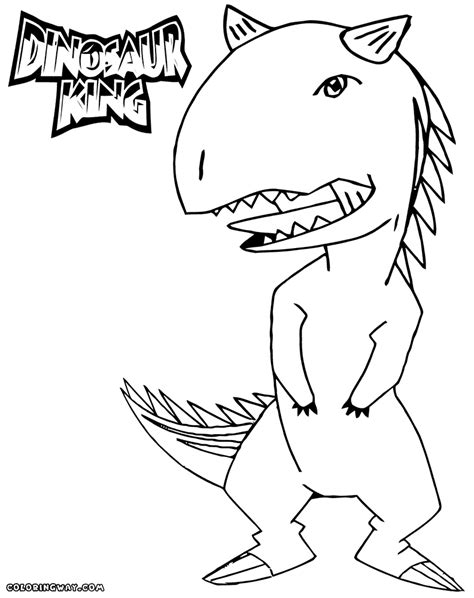 Coloring Pages Of Dinosaur King | dinosaur king coloring pages coloring pages to download