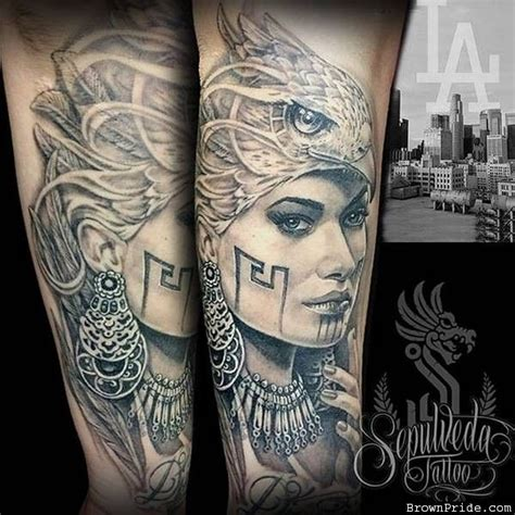 female warrior tattoos eagle warrior eagle warrior by