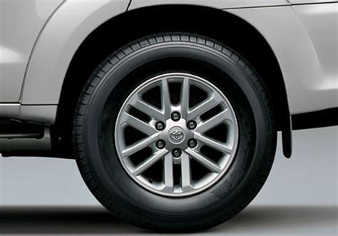 Better Home Interiors What Is The Tyre Pressure For Toyota Fortuner Cardekho Com