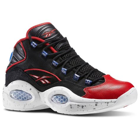 allen basketball shoes reebok question mid allen iverson limited shoes sneaker