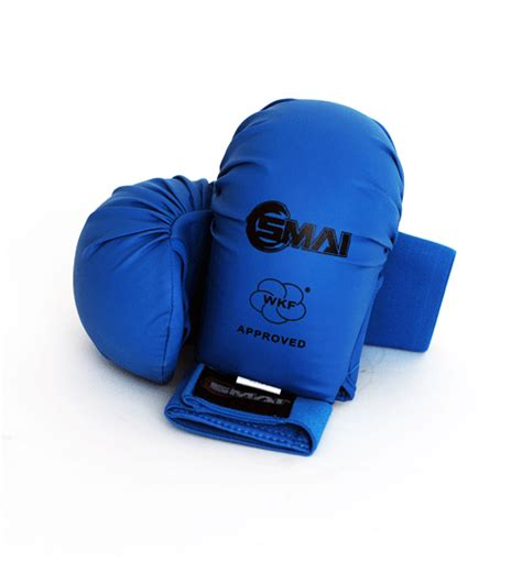 Venum Karate Glove Wkf Approved Blue karate glove wkf approved smai martial arts supplies toronto canada karate taekwondo bjj