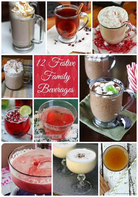 12 festive family beverages yummy non alcoholic drinks