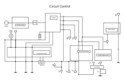 Circuit Control Diagram   Free Circuit Control Diagram