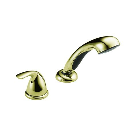 delta brass bathroom faucets faucet com rp14979pb in polished brass by delta