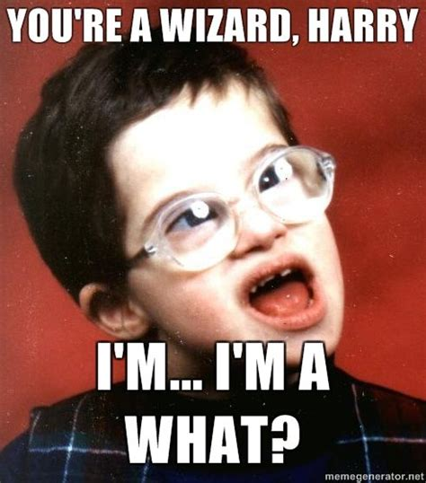 What R Memes - you re a wizard harry know your meme