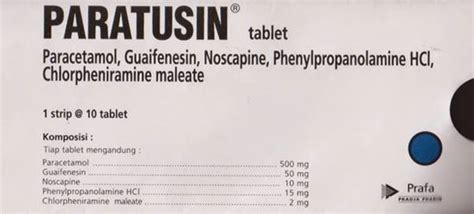 Obat Paratusin paratusin kegunaan dosis efek sing mediskus