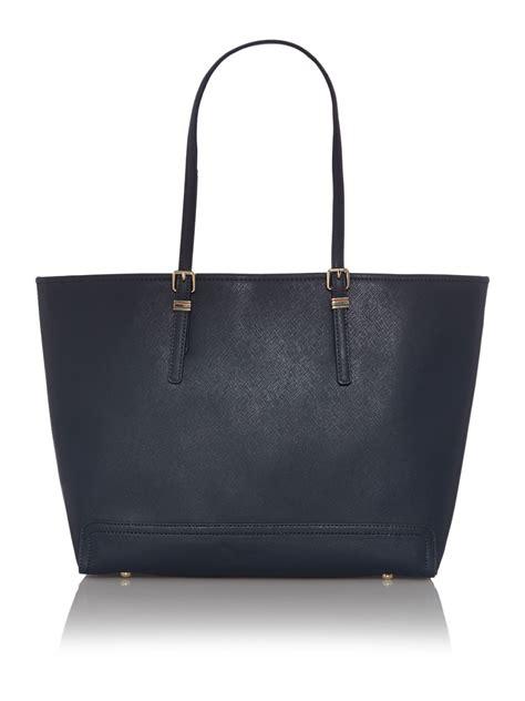 Hilfiger Large Tote Bag hilfiger honey large tote bag in blue lyst