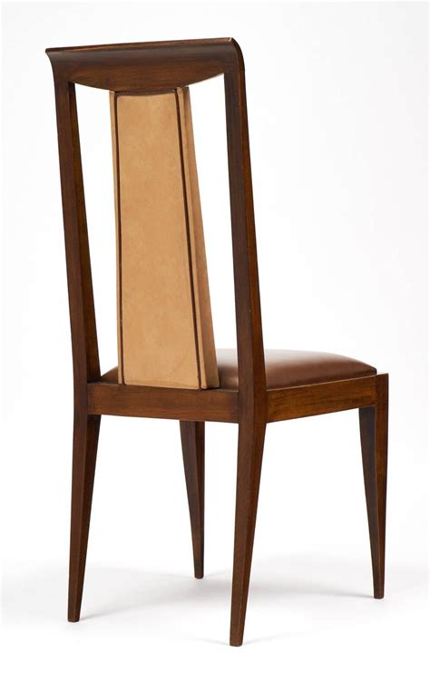 french dining room chairs french 1940s set of six solid walnut dining chairs for