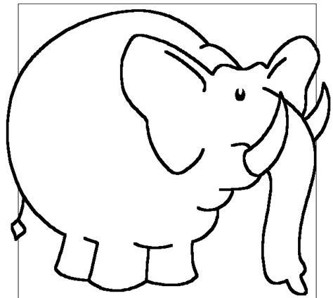 preschool coloring pages elephant elephant preschool coloring pages