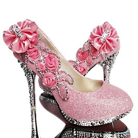 Hochzeit Damen Schuhe by Brautschuhe Hochzeits Schuhe Abends Kristall Blume Damen