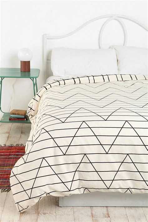 outfitters bedding assembly home between the lines duvet cover