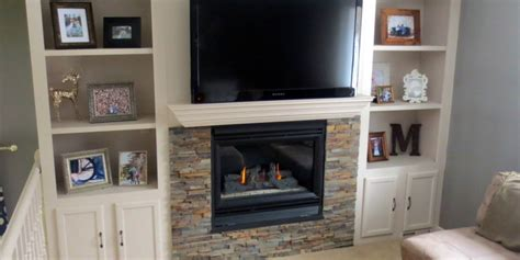 remodelaholic fireplace makeover  built  shelves