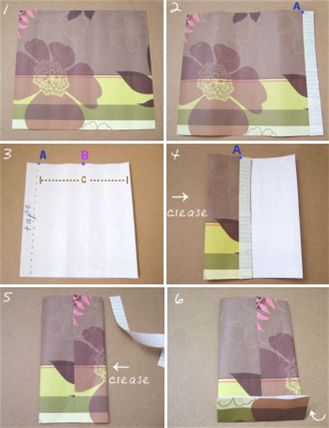 Steps To Make A Paper Bag - paper crafts simple paper bags tutorial crafts ideas