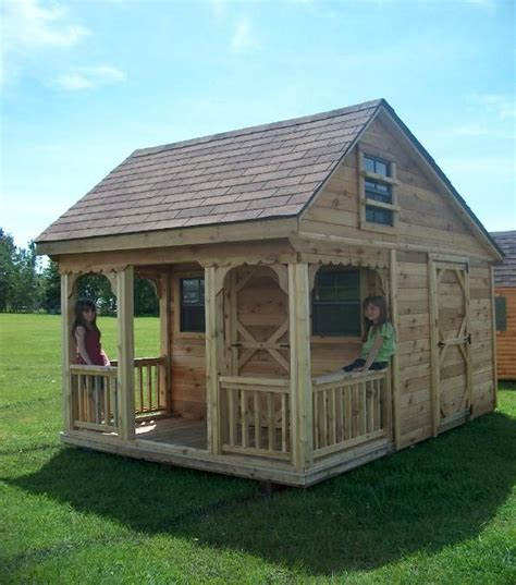 outdoor playhouse plans with loft interior picture loft