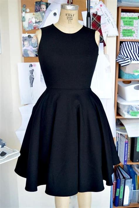 pattern for net dress little black dress pattern updated craftsy