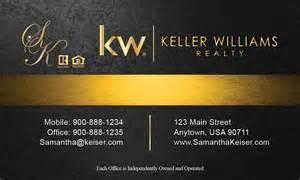 keller williams business cards black keller williams business card design 103501