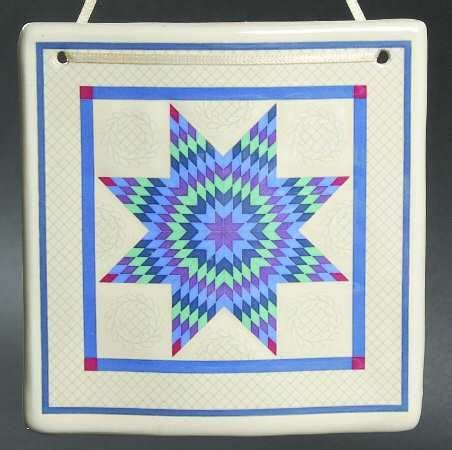 Hill Design Ceramic Quilts | quilt designs ceramics and quilt on pinterest