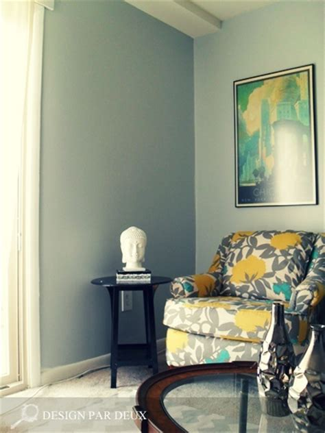 living room teal yellow and gray living room