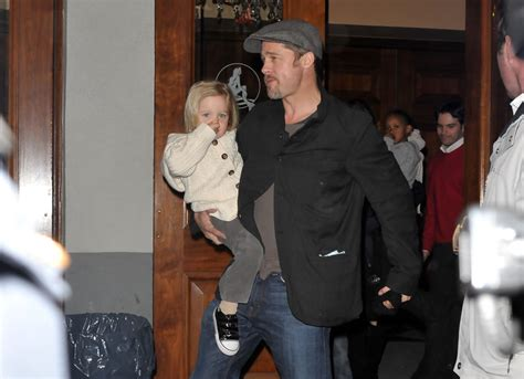 Brad Pitt And Shiloh The Most Beautiful Picture by Brad Pitt And Shiloh Pitt Photos Photos Pitt