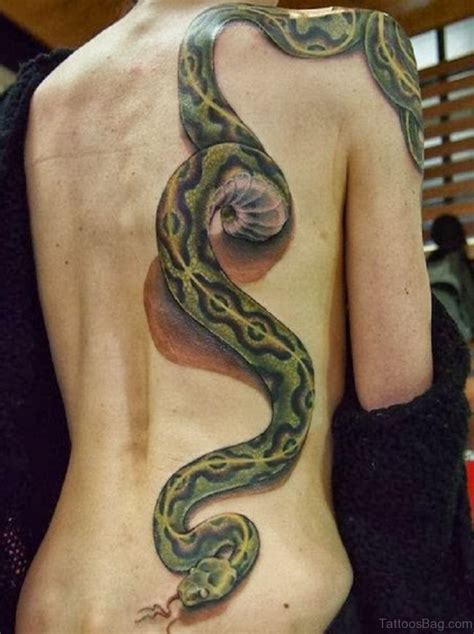 60 classy snake tattoos for back