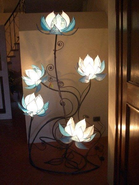 i found custom made italian blue lotus flower l on