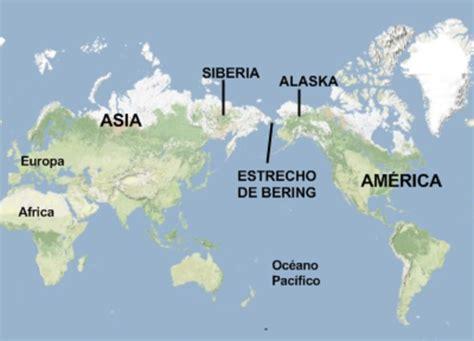 mapa del estrecho de bering teor 205 as del poblamiento de am 201 rica causas y consecuencias