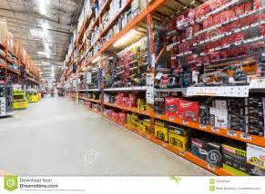 my home depot aisle in a home depot hardware store editorial stock photo