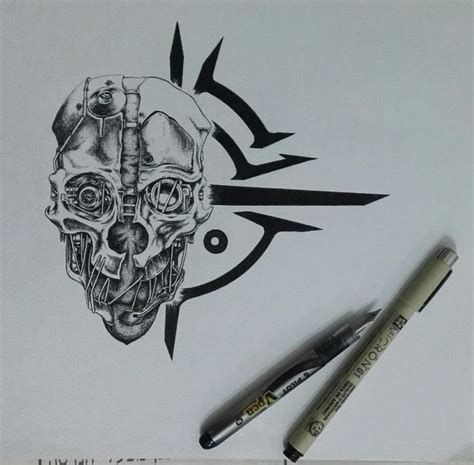 dishonored tattoo 25 best ideas about dishonored mask on corvo
