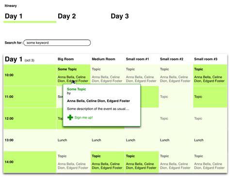 web design event calendar html website design event calendar user experience