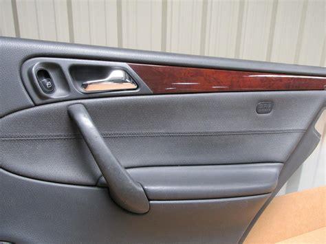 mercedes benz   black door panels complete set ebay