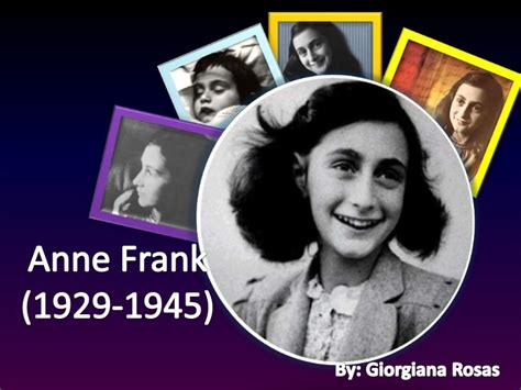 anne frank biography powerpoint presentation anne frank final corrected