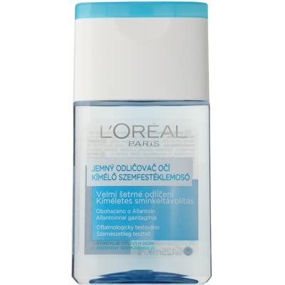L Oreal Gentle Eye l or 233 al gentle eye and lip makeup remover for
