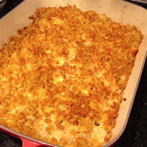 baked macaroni and cheese recipe dishmaps