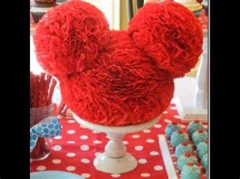diy mickey mouse clubhouse birthday party decorating ideas