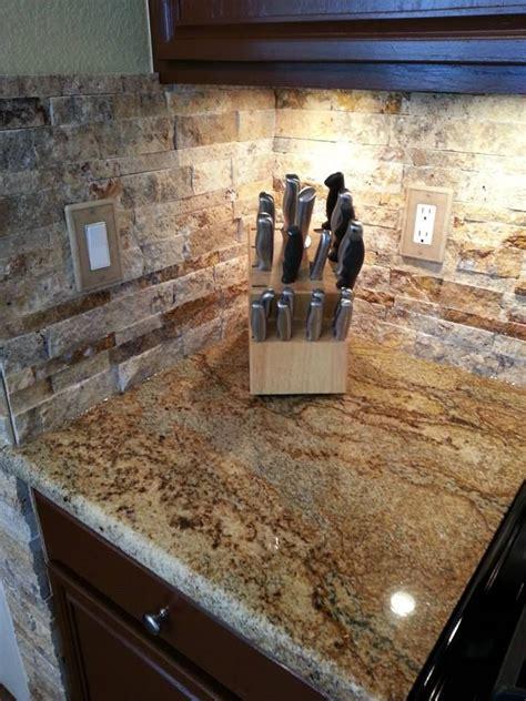 tile backsplash for kitchens with granite countertops best 25 stacked backsplash ideas on backsplash kitchen granite