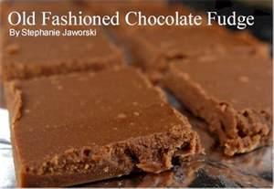 Chocolate fudge recipe joyofbaking com tested recipe