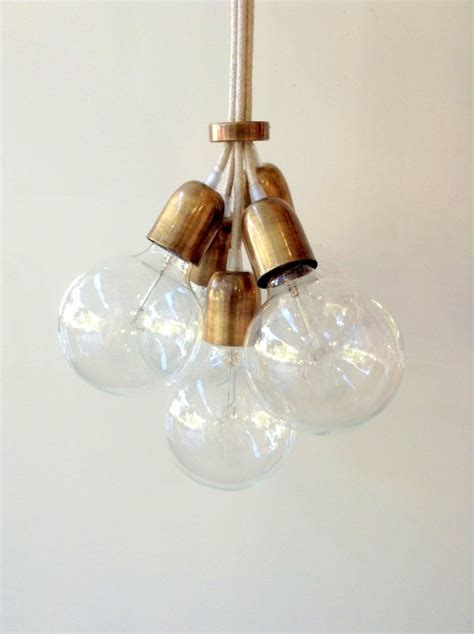 Handmade Hanging Lights - handmade pendant light chandelier edison by lightcookie on