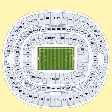 tottenham wembley seating plan away fans buy fa community shield 2015 tickets at wembley stadium in