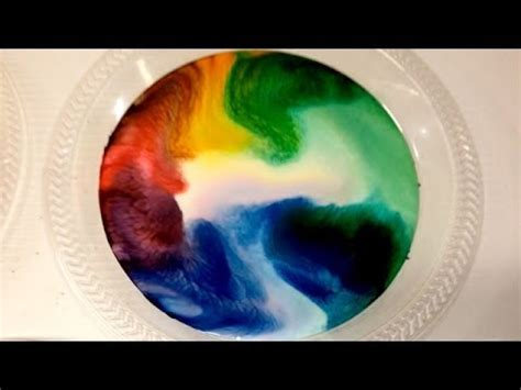 food coloring and milk milk food coloring and dish soap experiment