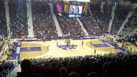 what is a section 5 bramlage coliseum section 7 row 32 seat 14 kansas state