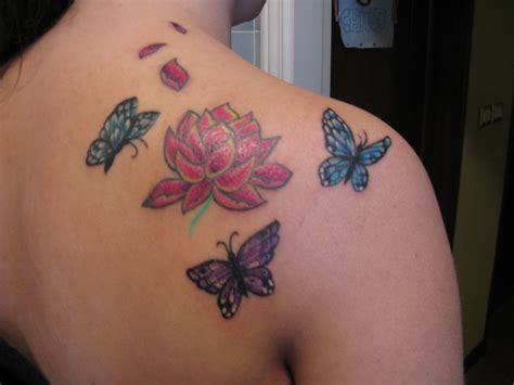 tattoo butterfly lotus lotus and butterfly tattoo by 91elena91 on deviantart