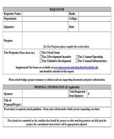 template for funding request sle funding request form 10 exles in word pdf