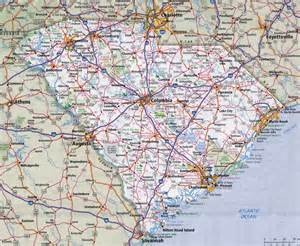 road map of carolina and south carolina south carolina road map my