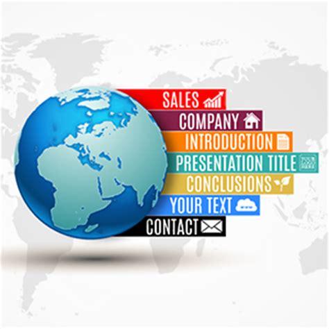 Global Line Prezi Template Prezibase Prezi Newspaper Template