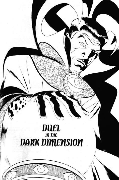 Doctor Strange by Marcos Martin (com imagens) | Desenho