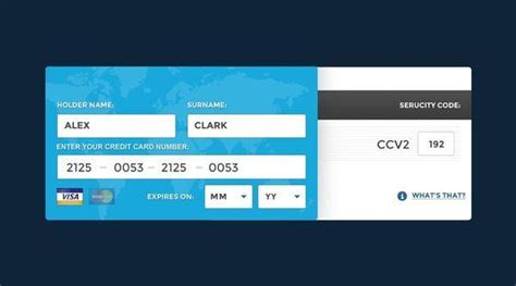 Credit Card Form Template Css 40 Free Credit Card Mockup Psd Templates Techclient