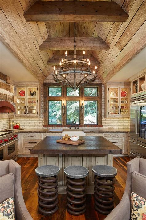 rustic interiors 45 most pinteresting kitchens featured on 1 kindesign for 2016