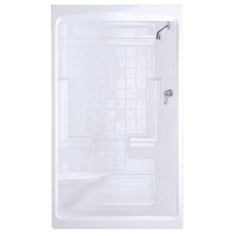 Home Depot Shower Stalls by Maax Montego 35 In X 51 In X 85 In Shower Stall With