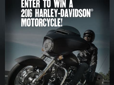 Harley Davidson Giveaway - the harley davidson sweepstakes sweepstakes fanatics