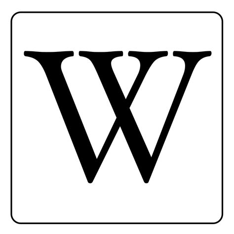file letter w written with the font hoefler text svg